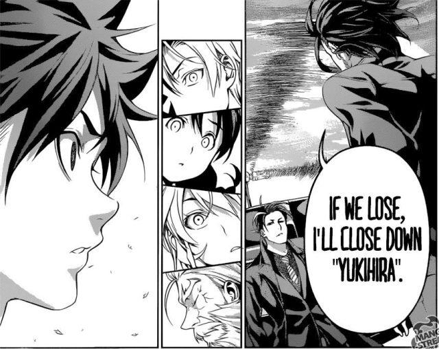 Shokugeki no Soma chapter 194 - Jouichirou's consideration