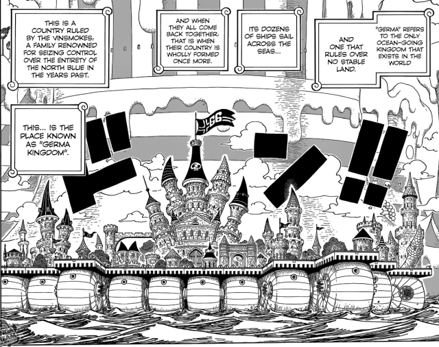 One Piece Chapter 832 - The Germa Kingdom