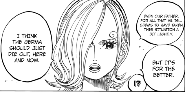 One Piece chapter 852 - Reiju's intentions