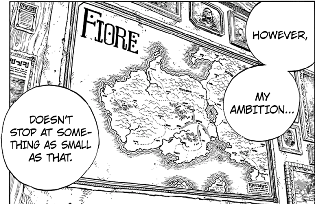 Fairy Tail chapter 522 - Zeref's ambition