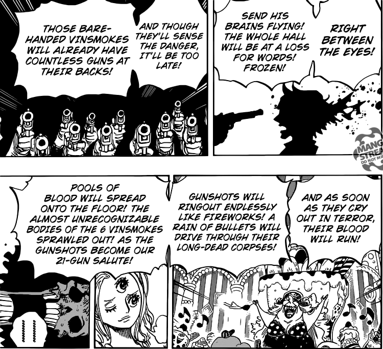 One Piece chapter 854 - Big Mom's plan