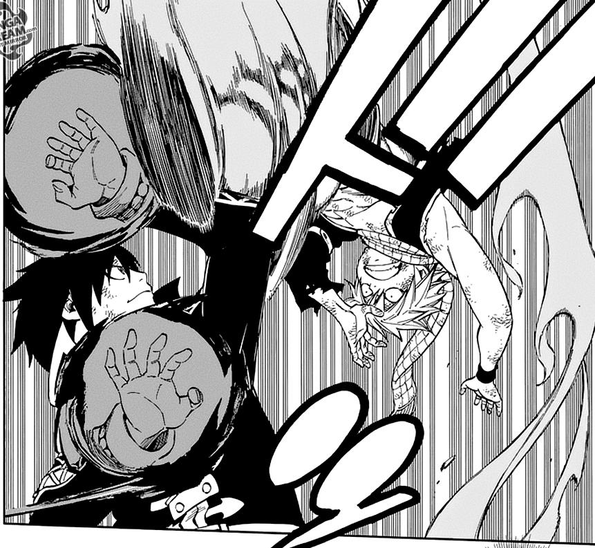 Fairy Tail chapter 525 - Natsu VS Zeref