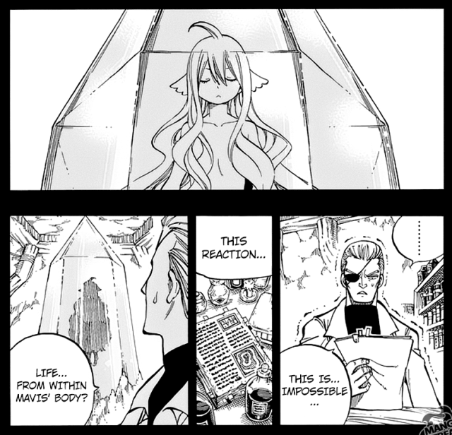 Fairy Tail chapter 525 - The Child within Mavis