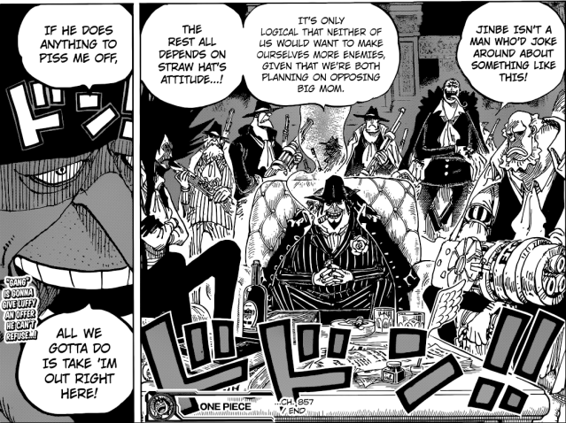 One Piece Chapter 857 - An unlikely alliance