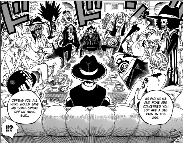One Piece chapter 858 - Pirate Alliance