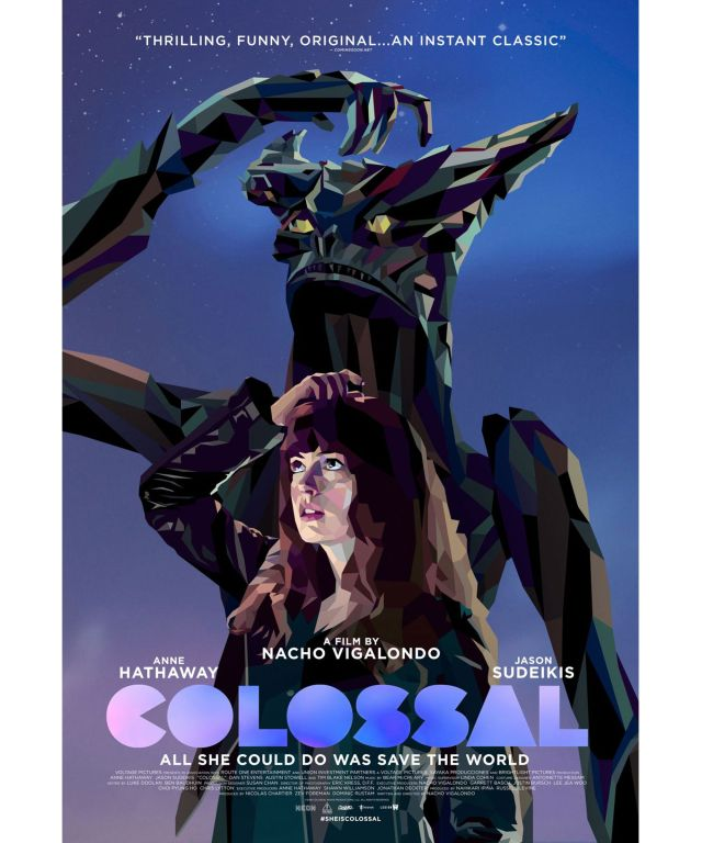 Colossal - Poster