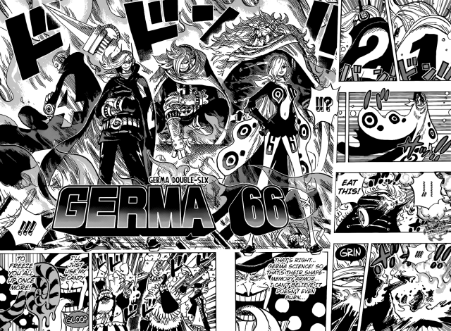 One Piece chapter 869 - Germa 66