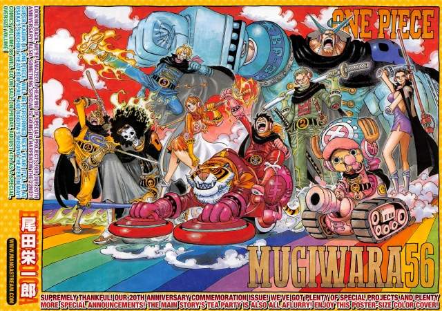 One Piece chapter 872 - colour spread