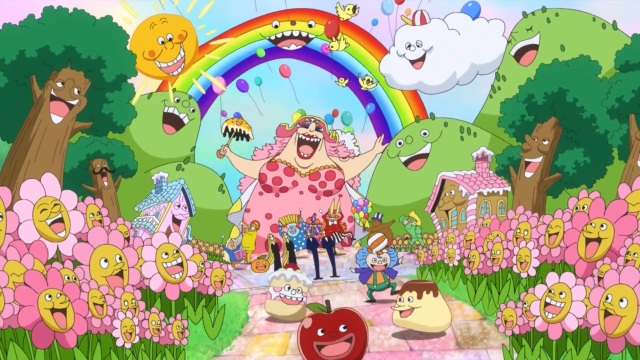 One Piece - Big Mom's Preparation Celebration