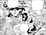 One Piece chapter 875 - Jinbe commanding the team