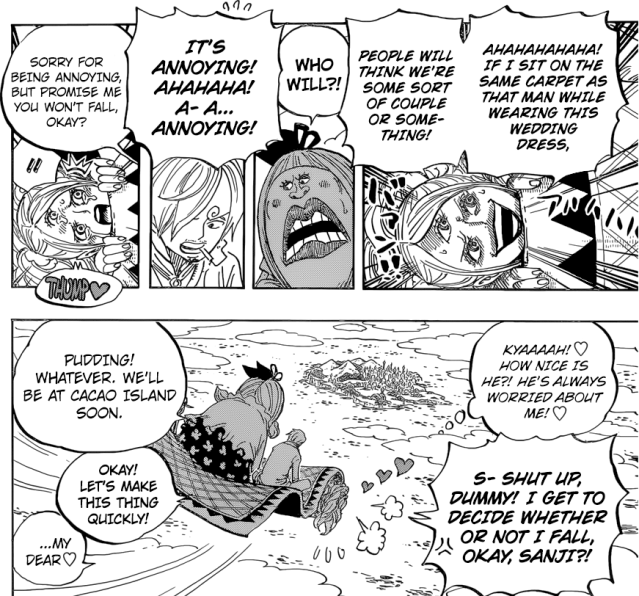 One Piece Chapter 879 - Pudding