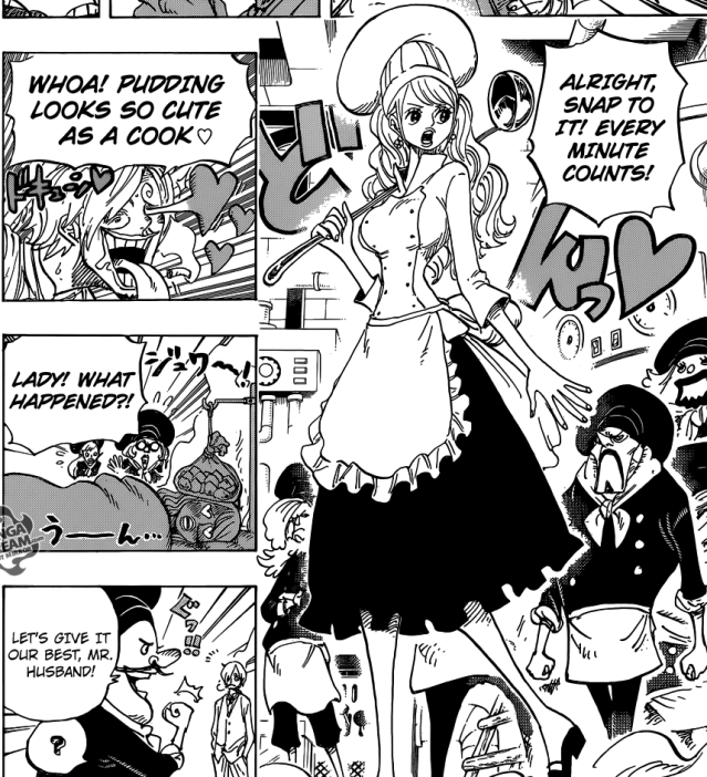 One Piece chapter 880 - Pudding