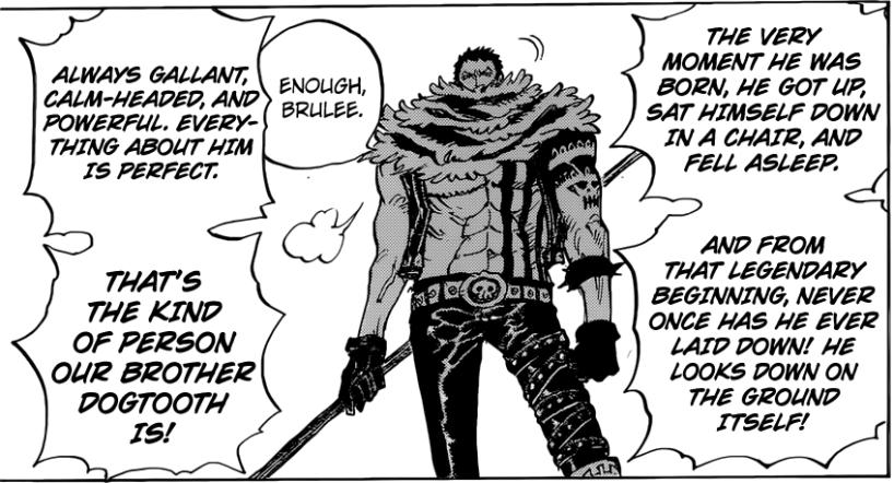 One Piece Chapter 882 - Katakuri