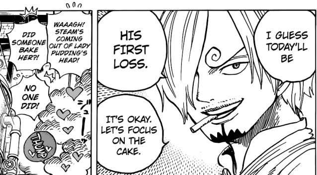 One Piece chapter 884 - Sanji