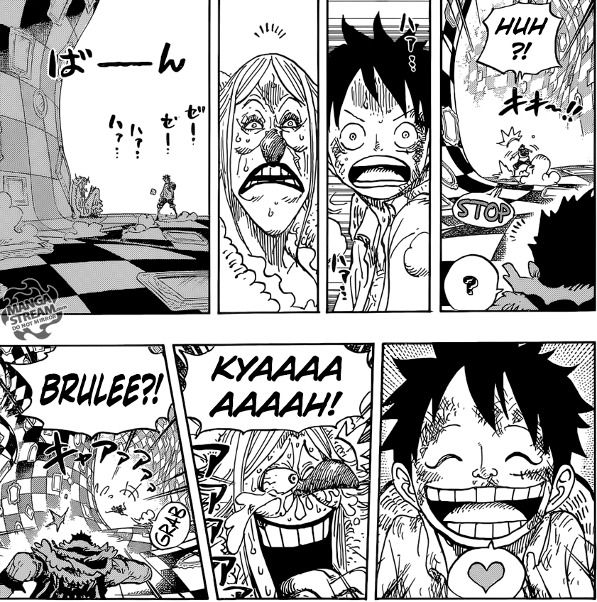 One Piece chapter 885 - Brulee
