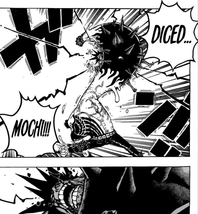 One Piece chapter 895 - Katakuri's Diced Mochi