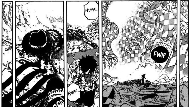 One Piece chapter 896 - Luffy and Katakuri