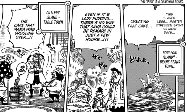 One Piece chapter 899 - impossible situation