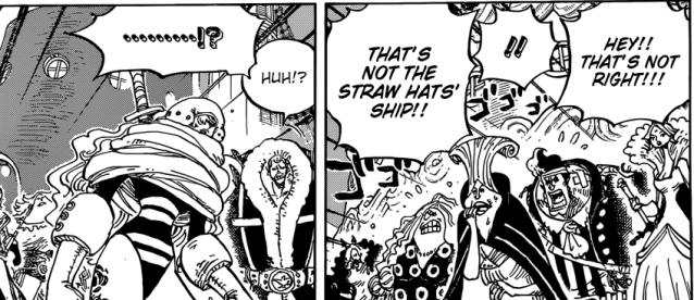 One Piece chapter 901 - Moscato Alive