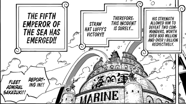 One Piece chapter 903 - The Fifth Emperor