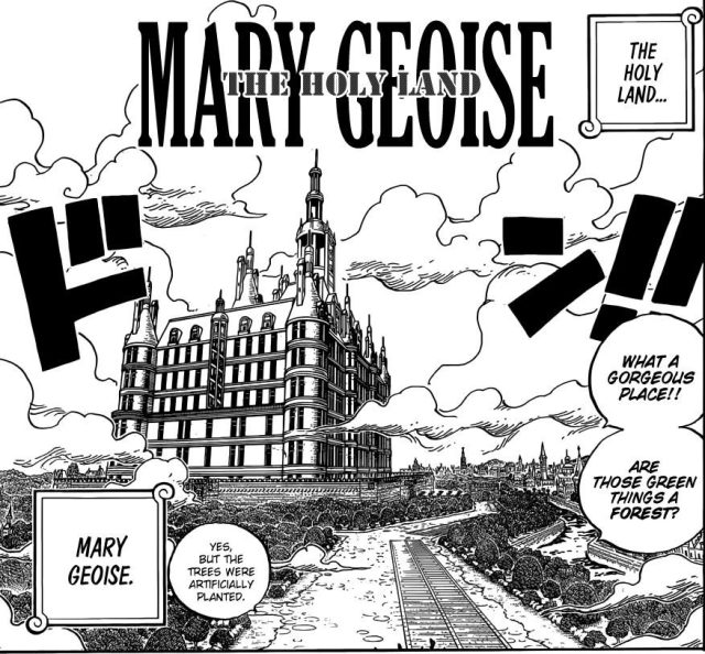One Piece chapter 906 - Marie Geoise