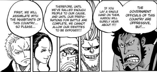 One Piece chapter 909 - Kinemon's plan