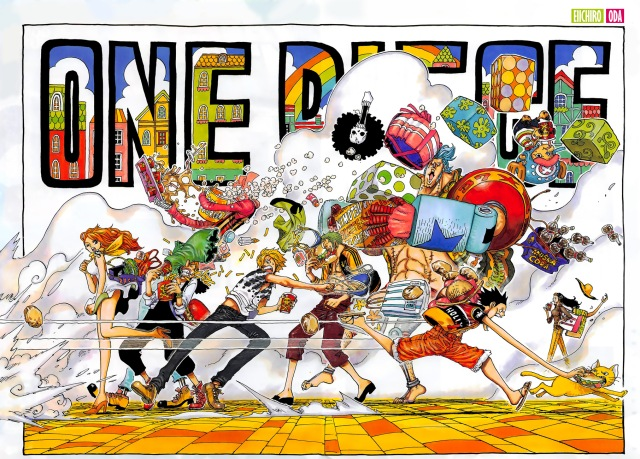 One Piece chapter 911 - double spread
