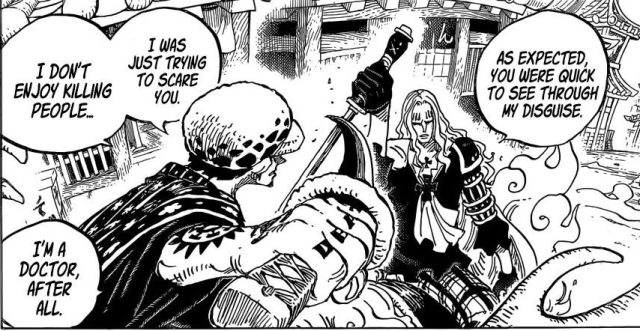 One Piece chapter 918 - Law VS Hawkins