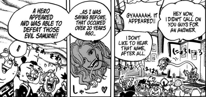 One Piece chapter 919 - Snakeneck