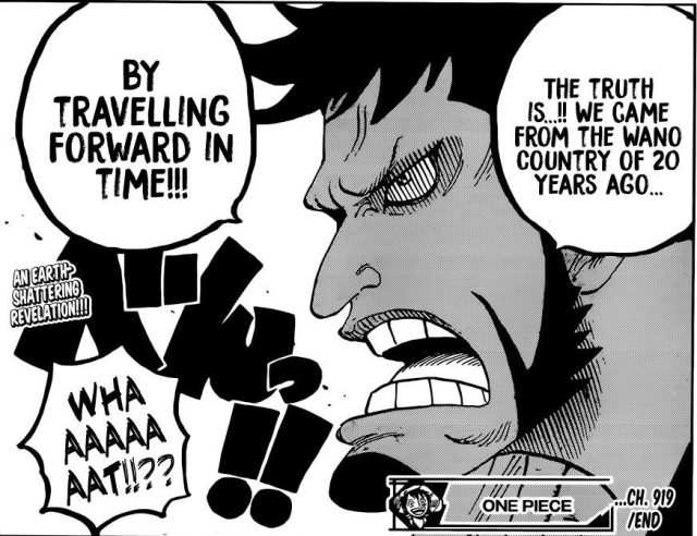 One Piece chapter 919 - Kin'emon's reveals the truth