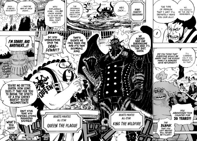 One Piece chapter 925 - Onigashima Island