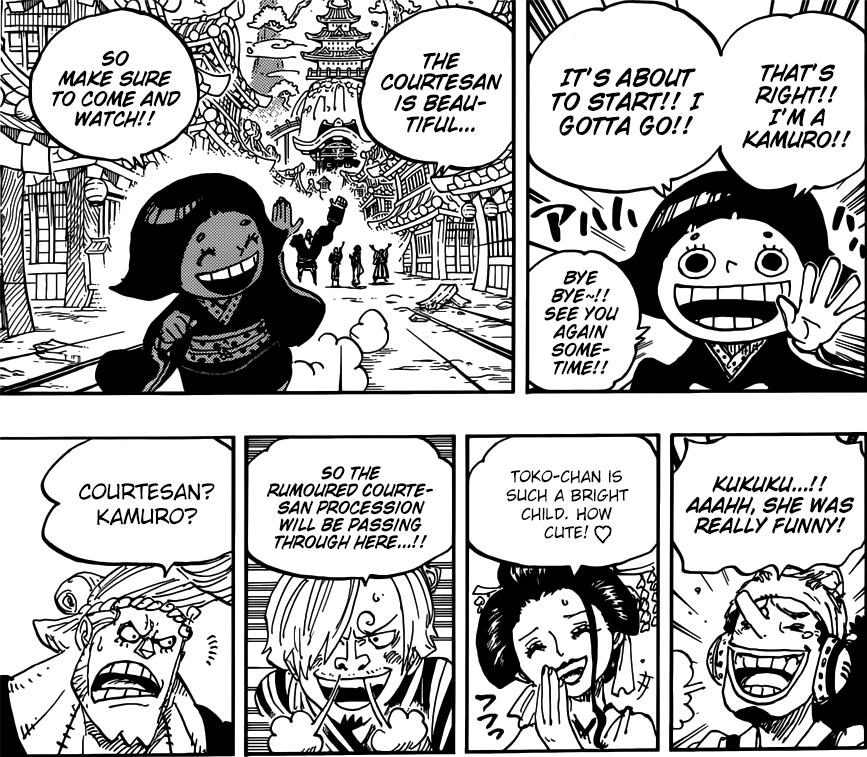 One Piece chapter 927 - Toko