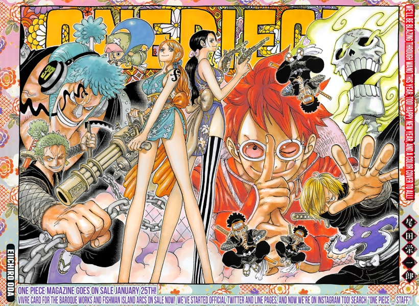 One Piece chapter 929 - colour spread