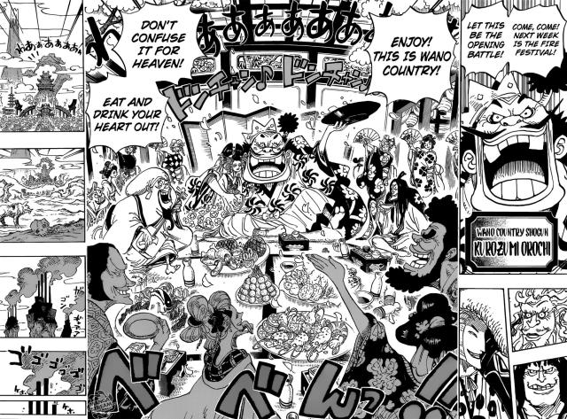 One Piece chapter 929 - Orochi's introduction