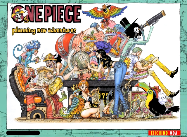 One Piece chapter 937 - Colour spread