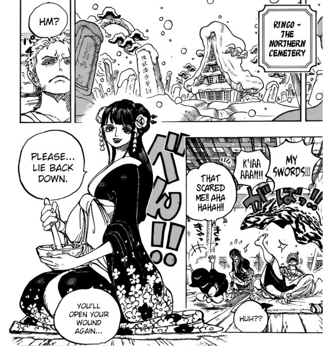 One Piece chapter 938 - Kozuki Hiyori