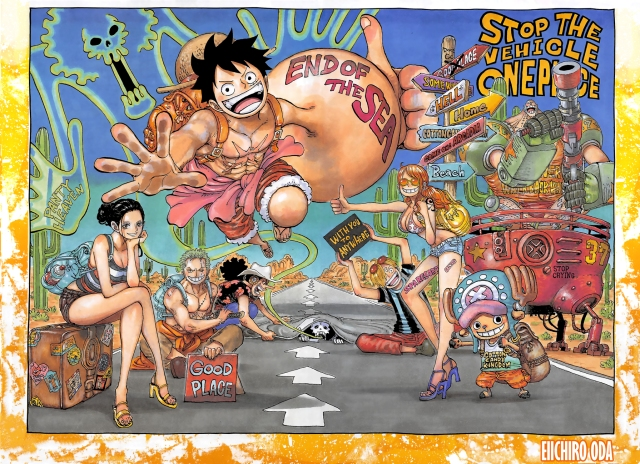 One Piece chapter 941 - colour spread