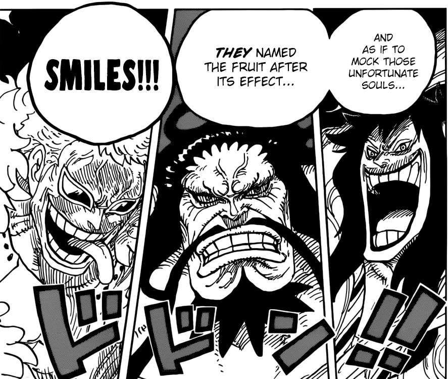 One Piece chapter 943 - SMILEs