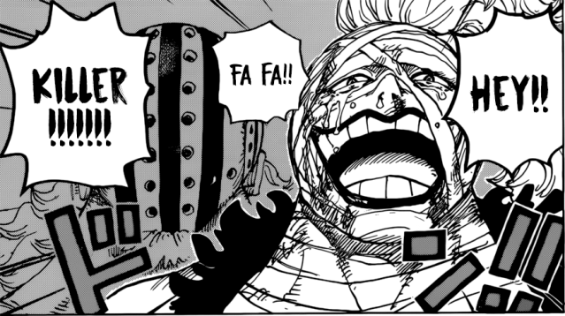 One Piece chapter 944 - Killer's tears
