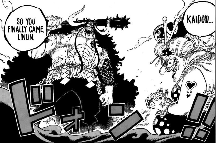 One Piece chapter 951 - Kaidou and Linlin