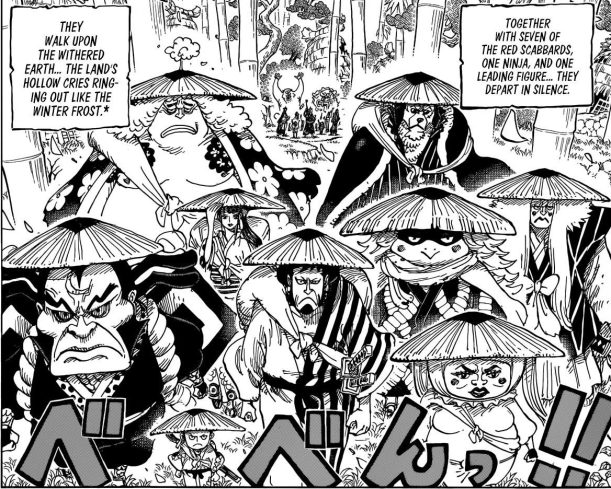 One Piece chapter 955 - The beginning of the Wano Kuni war