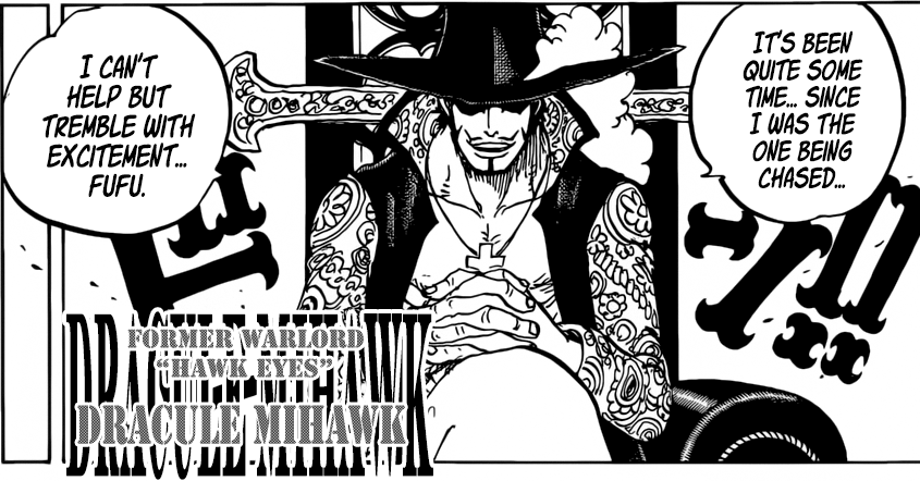 One Piece chapter 956 - The World Government targets the Shichibukai