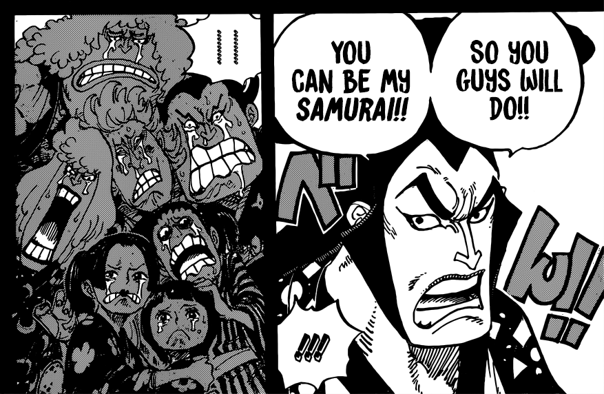 One Piece chapter 962 - Oden's retainers
