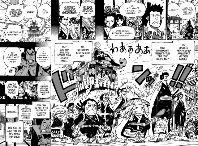One Piece chapter 963 - Oden's retainers