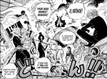 One Piece chapter 977 - The Straw Hat Pirates take out the Gate Guardians
