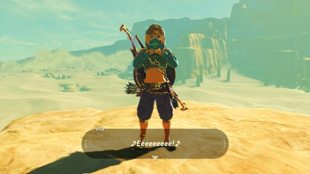 The Legend of Zelda: Breath of the Wild - Gerudo Outfit