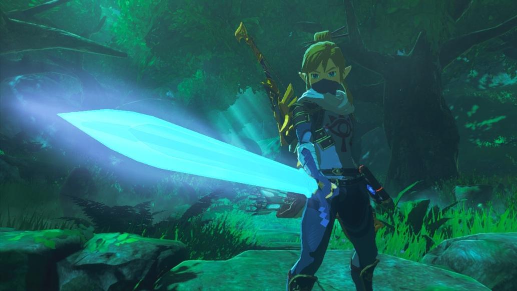 The Legend of Zelda: Breath of the Wild - The awakened Master Sword