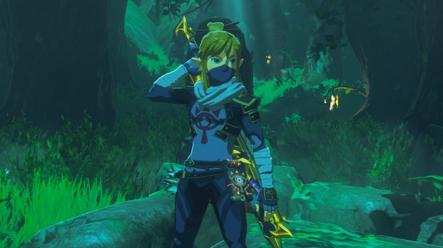 The Legend of Zelda: Breath of the Wild - The Sheikah Outfit