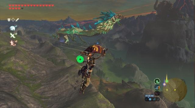 The Legend of Zelda: Breath of the Wild - Locating Naydra