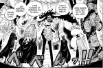 One Piece chapter 979 - The Tobi Roppo and Kaido